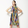 Blurred Vertical Strokes (Dress)