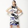 571 Ink Waves Print (Dress)