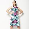 Graphite Flower I (Dress)