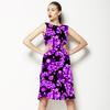 Mix Abstract Paisley Dots Print. Paisley 3DDS03. (Dress)
