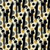 Caraway Ink Abstract Brush Dots (Original)