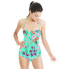 Ditsy Floral Vector Repeat Print (Swimsuit)