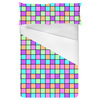 Multicoloured Square Print (Bed)