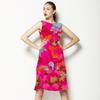 Magenta Chrysanthemum (Dress)