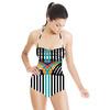 Striped Geo Funk (Swimsuit)