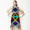 Geo Funk With Diamonds (Dress)