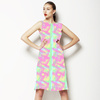 Abstract Gingham (Dress)