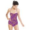 Honey Flower Purple (Swimsuit)