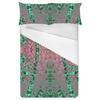 Tropical Print Foulard (Bed)