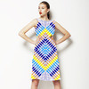 Mirrored Geometric (Dress)