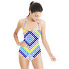 Mirrored Geometric (Swimsuit)