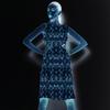 Blue Karakul - Crystalized (Dress)