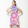 Kaleidoscopic Flowers (Dress)