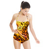 Marble Leopard Effect (Swimsuit)
