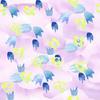 Abstract Watercolor Bellflowers (Original)