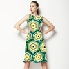 Geometric Trendy Hexagon (Dress)