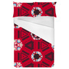 Ethnic Red Geometric (Bed)