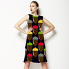 Acorns Repeat Pattern (Dress)