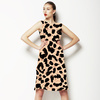 Leopard Print Pattern0008 (Dress)