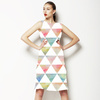 Ethnic Watercolor Triangles Pattern (Dress)