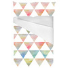 Ethnic Watercolor Triangles Pattern (Bed)