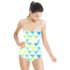 Watercolor Triangles (Swimsuit)