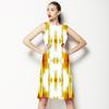 Yellow Impressionist Brushwork (Dress)
