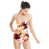 Paint Flowers Texture (Swimsuit)