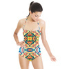 Vintage Mosaic Pattern (Swimsuit)