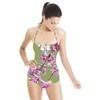 Digital Blossom Bird Print (Swimsuit)