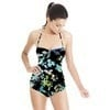 Floral Shadow Pop (Swimsuit)