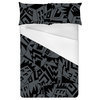 Busy City Abstract Allover Graphic Print (Bed)