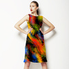 Abstract Black Background (Dress)