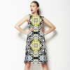 Beauty Geometric Kaleidoscope (Dress)