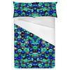 Blue Watercolour Floral (Bed)