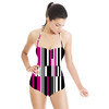 Stripes and Squares (Swimsuit)