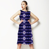 Blue Abstract Pattern (Dress)