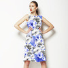 Photographic Flowers With Jewels (Dress)