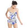 Photographic Flowers With Jewels (Swimsuit)