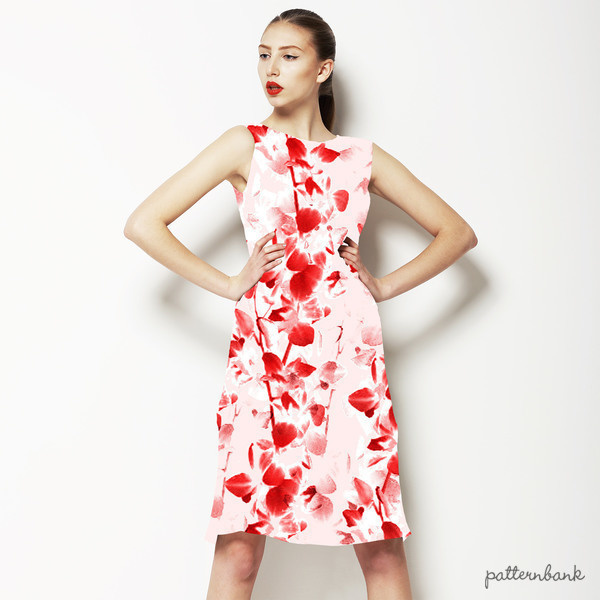 Pretty Red Blossom