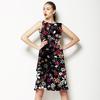 Dark Floral Tangle (Dress)