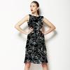 Linear Floral (Dress)