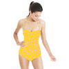 Yellow Floral (Swimsuit)