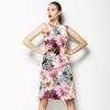 Pretty Dahlia Print (Dress)