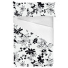 Black and White Floral (Bed)