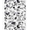 Black and White Floral (Original)
