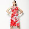 Red Ikat (Dress)