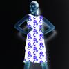 Purple Flowers (Dress)