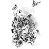 Flowers and Butterflies (Original)