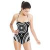 Decorative Geometric Circles (Swimsuit)